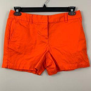 "Loft 4"" shorts- orange"